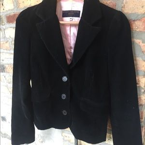 Juicy couture chord black fitted blazer